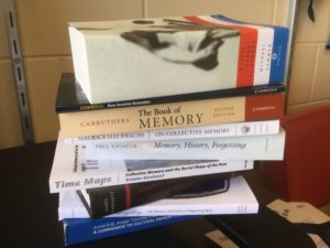 Stack of Books on Memory